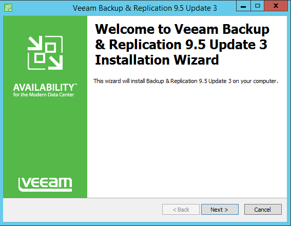 How to upgrade Veeam Backup & Replication 9 5 to update 3