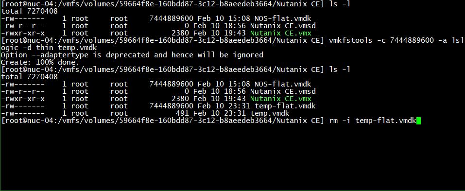 domalab.com Create VMware Disk Descriptor file 05