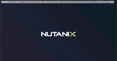 Install Nutanix Community Edition in your home lab