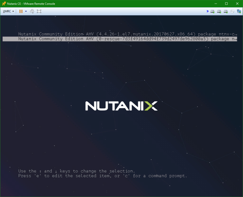 domalab.com Install Nutanix nested VMware