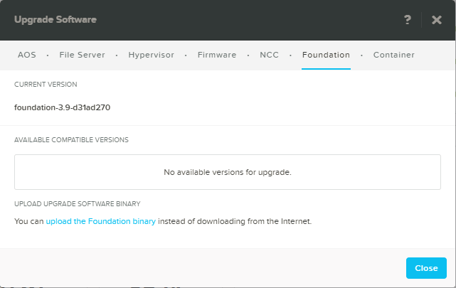 domalab.com Configure Nutanix upgrade Foundation