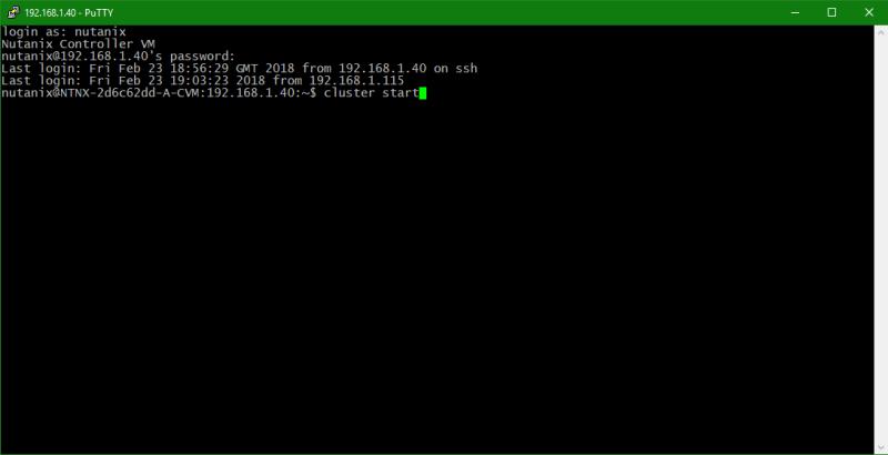 domalab.com configure Nutanix timezone cluster start