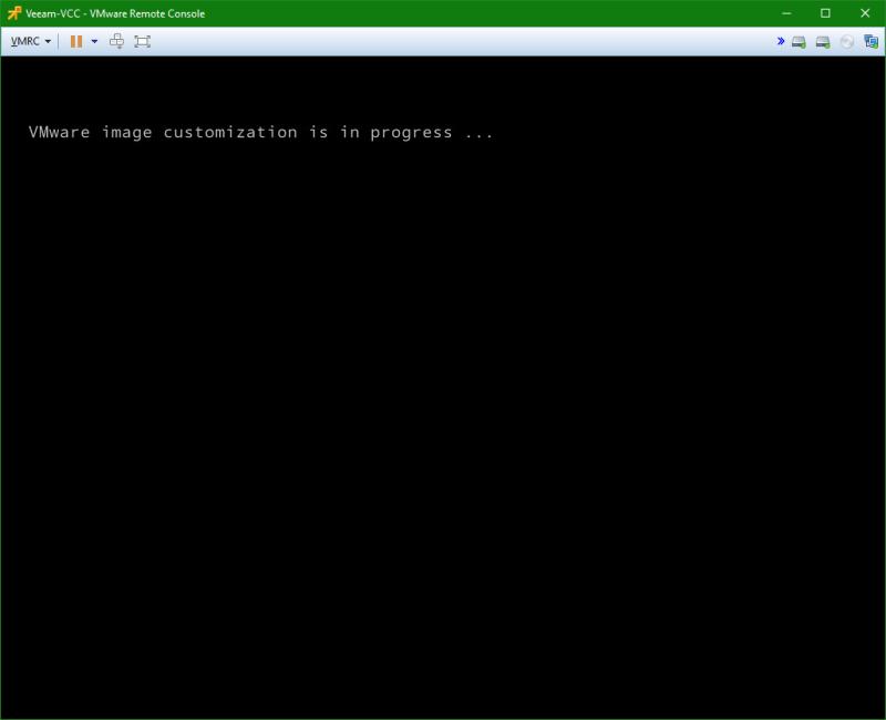 domalab.com VM Template customization in progress