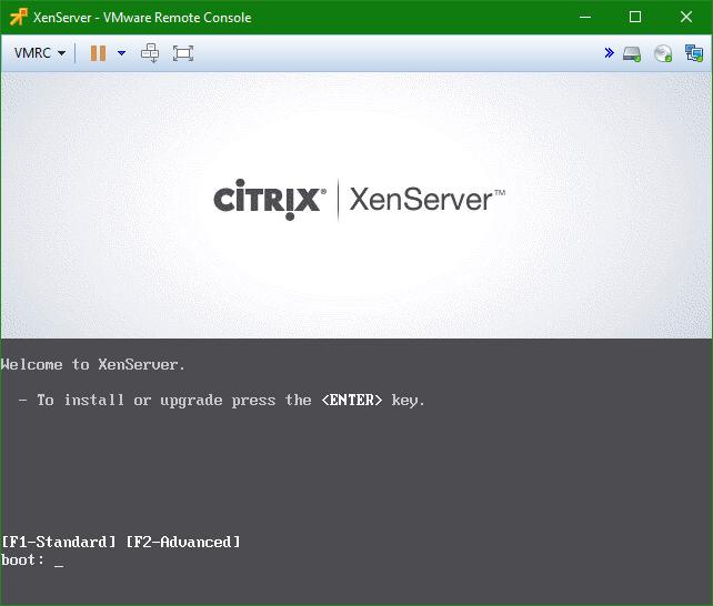 domalab.com install XenServer nested VMware