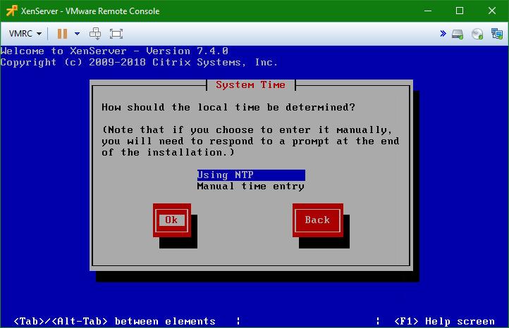 domalab.com install XenServer NTP