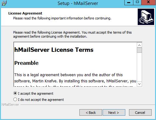domalab.com install hMailServer license