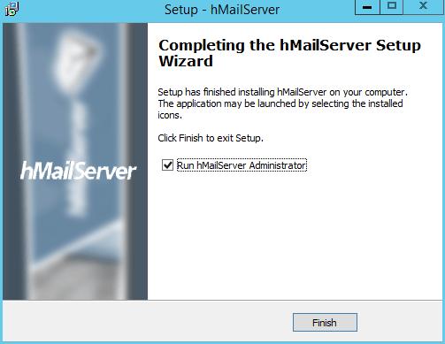 domalab.com install hMailServer run setup
