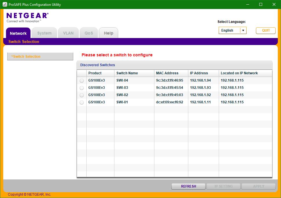 domalab.com Netgear firmware ProSafe Plus GUI