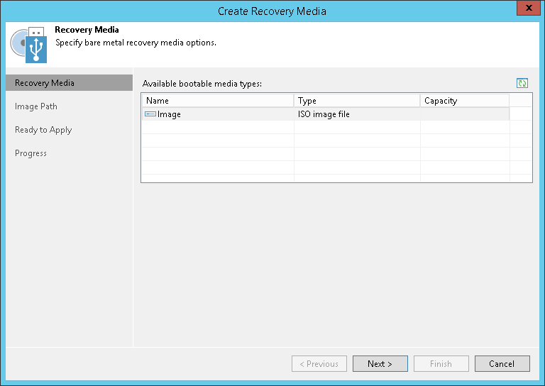 domalab.com Veeam Recovery Media wizard
