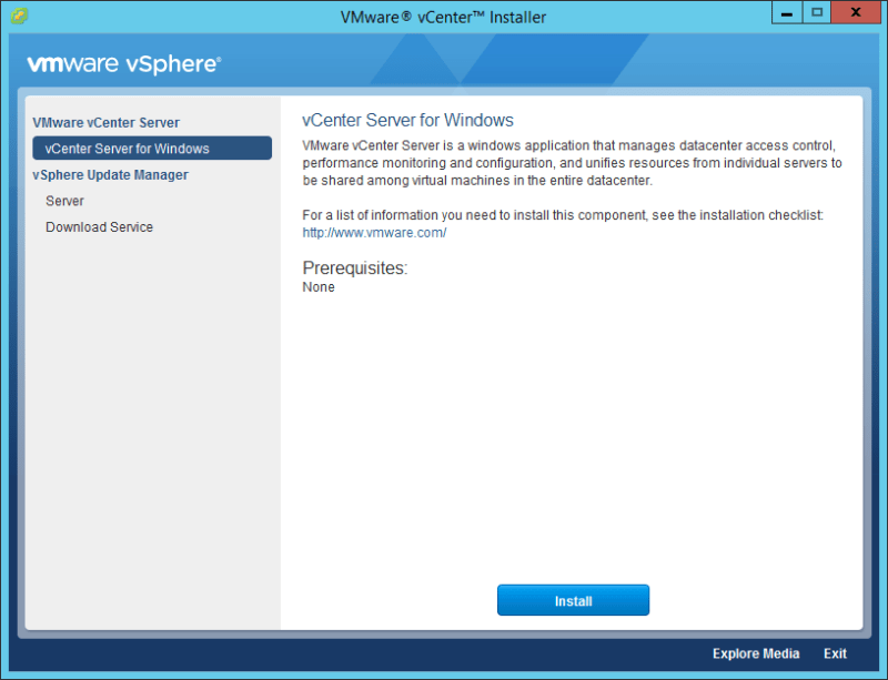 Domalab.com vCenter Upgrade for windows