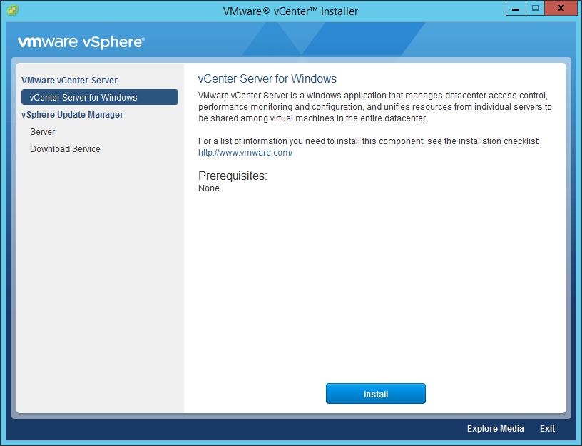 Domalab.com vCenter Upgrade for windows