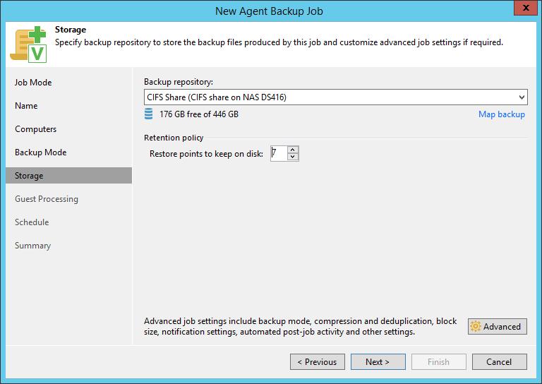 domalab.com SQL Cluster Backup Job storage