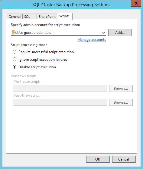 domalab.com SQL Cluster Backup Job geust scripts