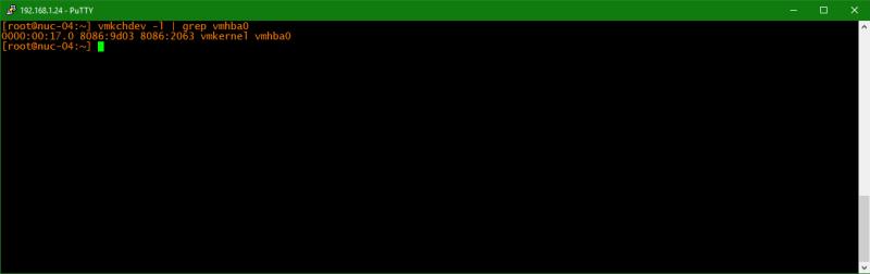 domalab.com Upgrade vSphere 6.5 host bus adapter