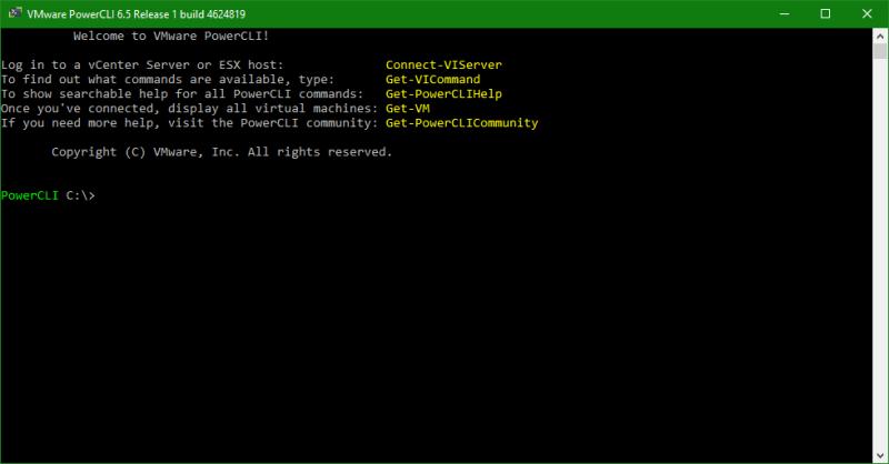 domalab.com Upgrade vSphere 6.5 powerCLI