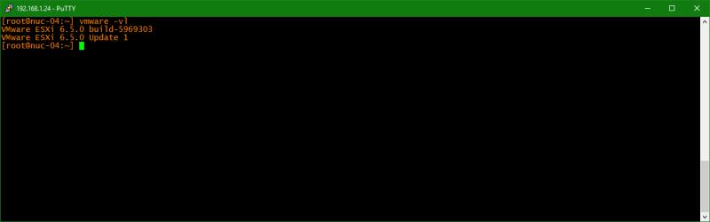 domalab.com Upgrade vSphere 6.5 version check