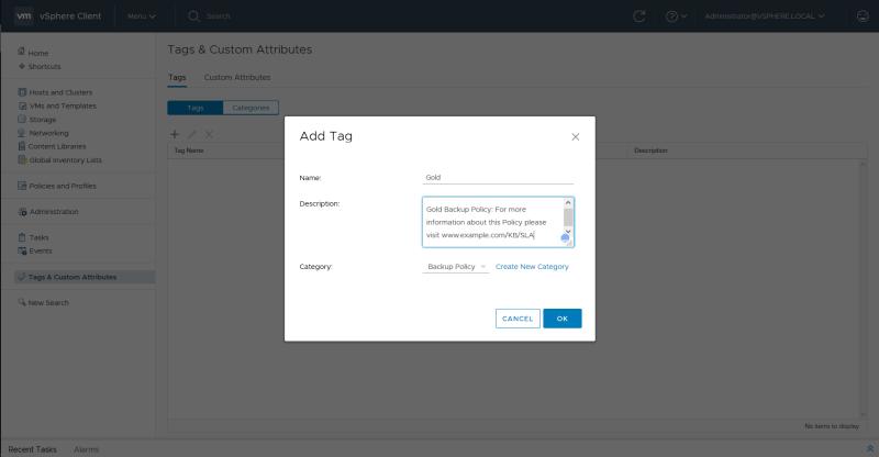 domalab.com VMware vSphere Tags add tag