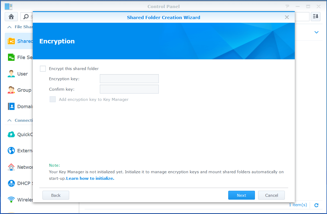 domalab.com VMware VCSA Backup synology shared folder encrypt