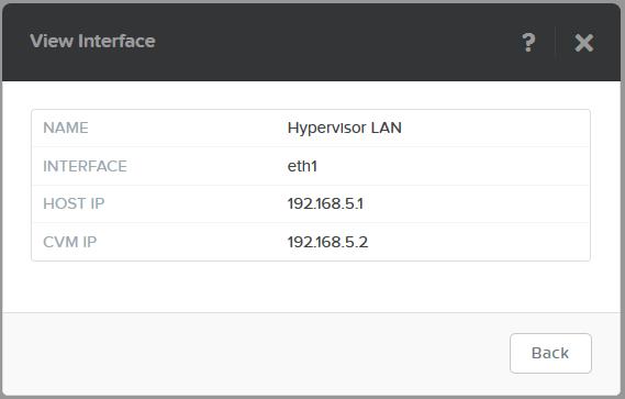 domalab.com Nutanix VM Network interface