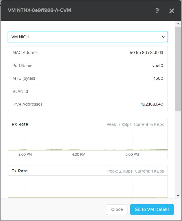 domalab.com Nutanix VM Network nic details