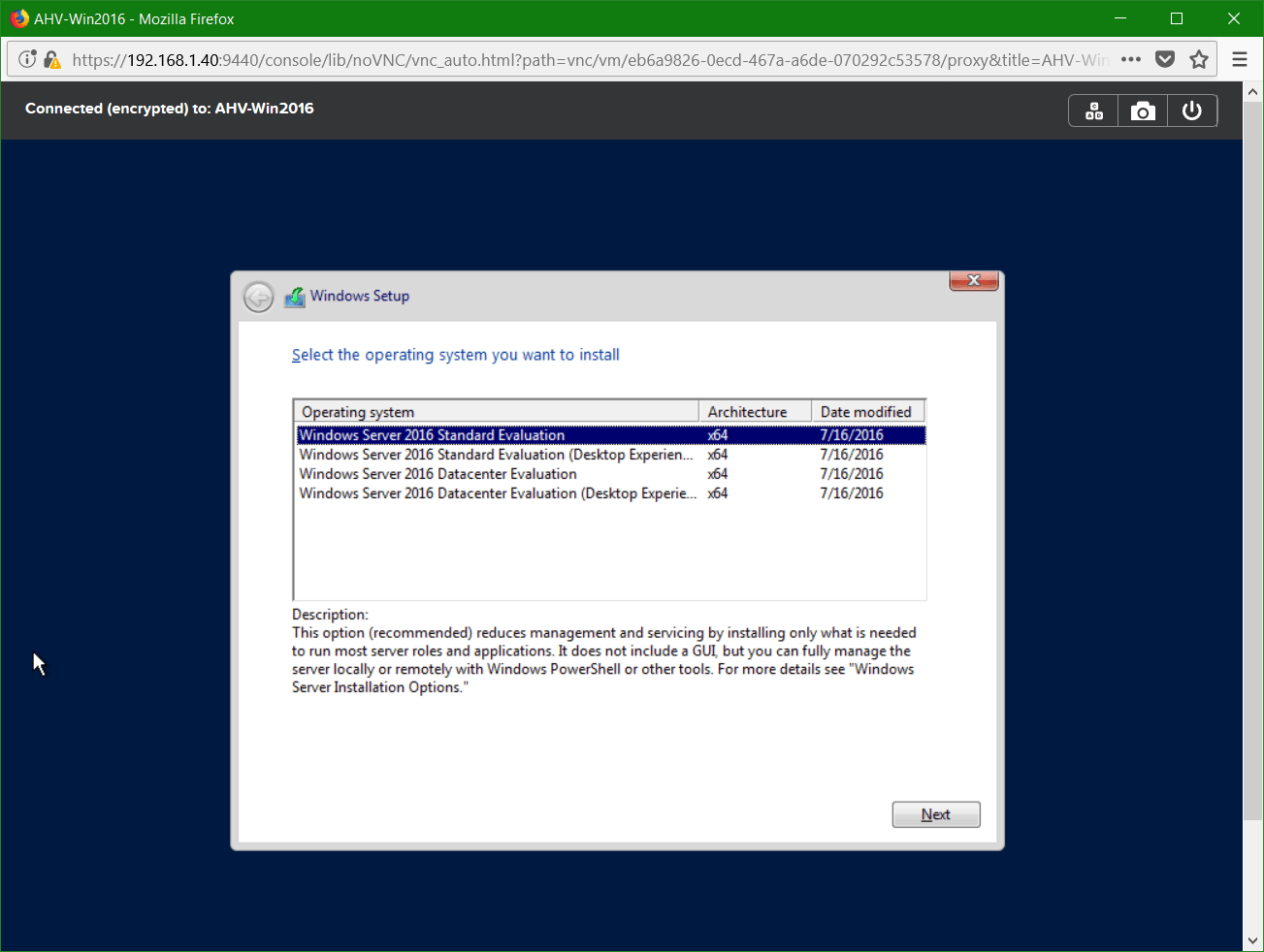 domalab.com Nutanix Windows AHV guest edition