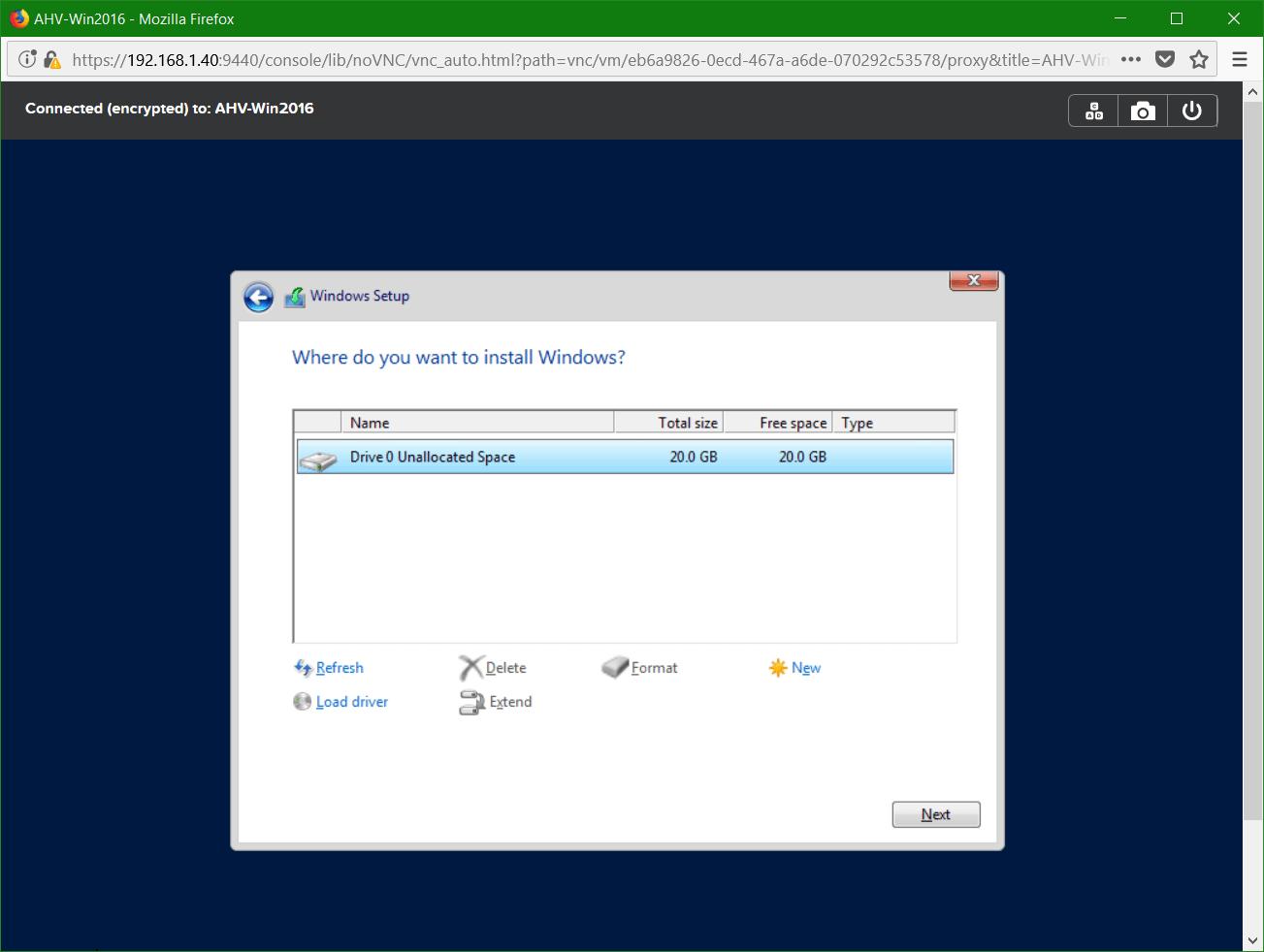 domalab.com Nutanix Windows AHV guest disk