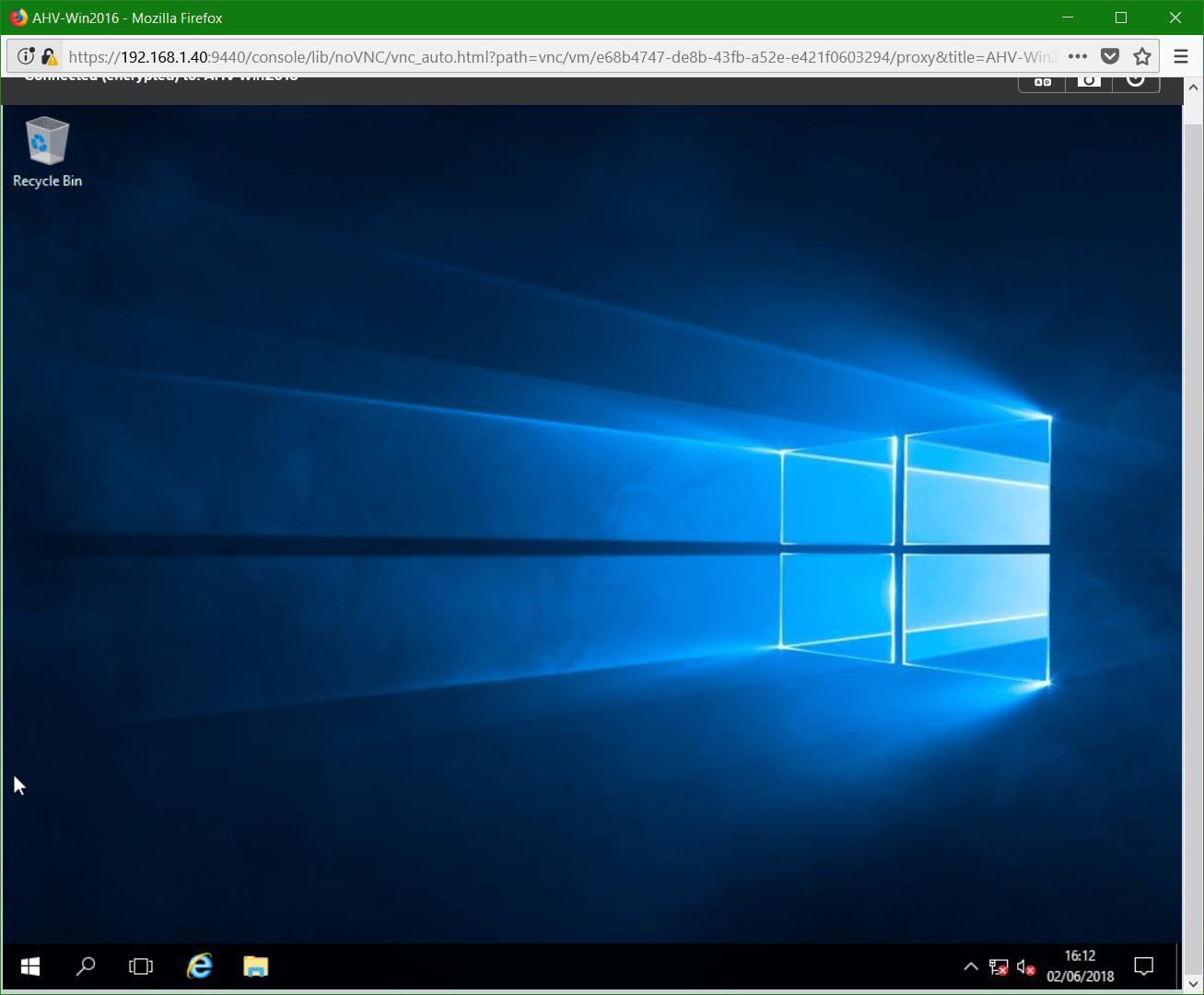domalab.com Nutanix Windows AHV desktop