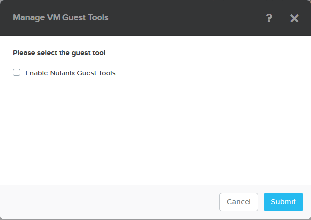 domalab.com Nutanix Windows AHV enable NGT