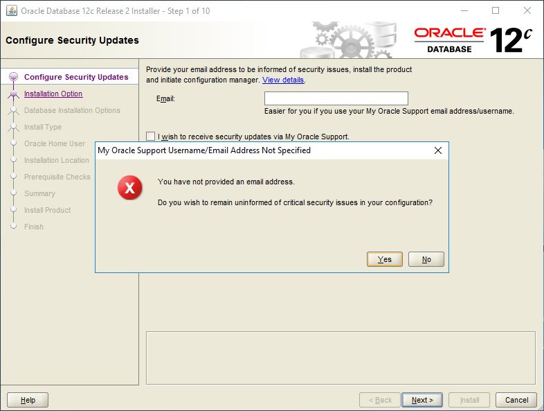 domalab.com Install Oracle options