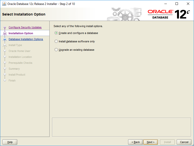 domalab.com Install Oracle option
