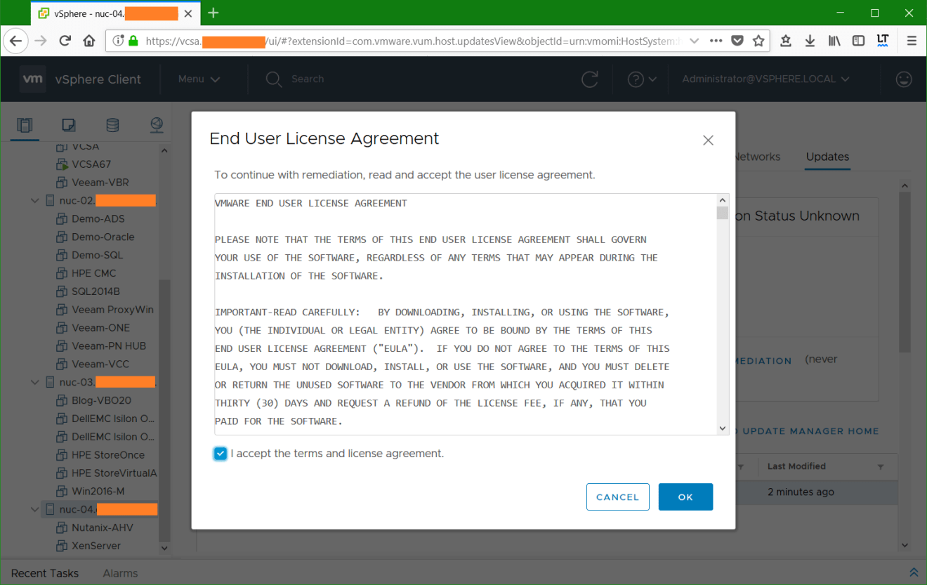 domalab.com VMware vSphere host EULA