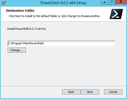 domalab.com Install PowerShell Core location