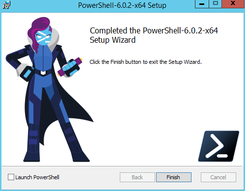 domalab.com Install PowerShell Core completed