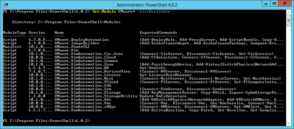 Install VMware PowerCLI and manage the virtual infrastructure » domalab