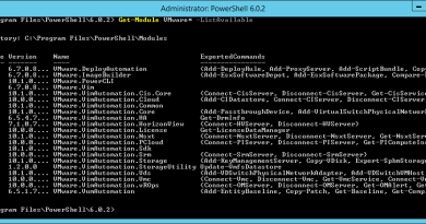 Install VMware PowerCLI and manage the virtual infrastructure