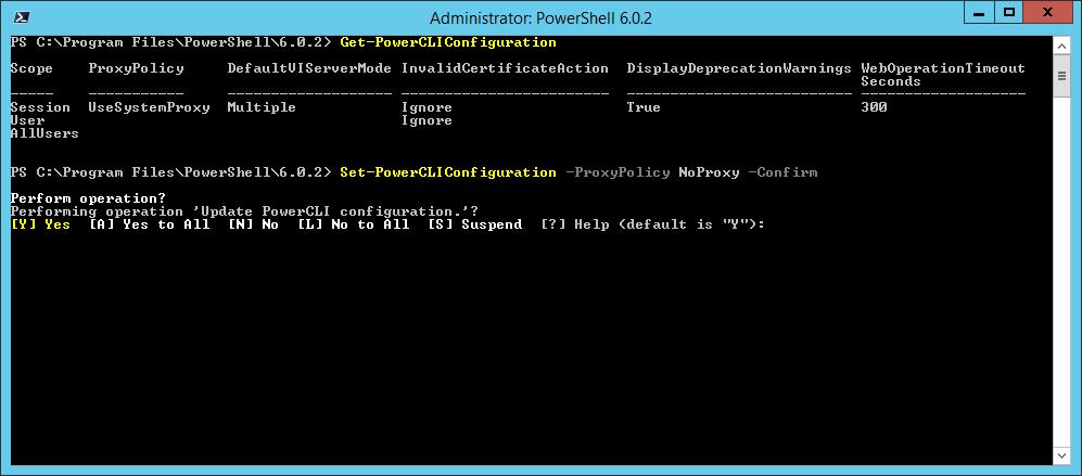 domalab.com Install VMware PowerCLI Policy