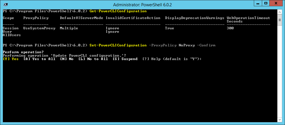 domalab.com Install VMware PowerCLI Policy