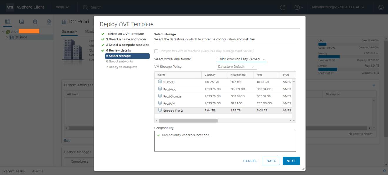 domalab.com AWS Storage Gateway select storage
