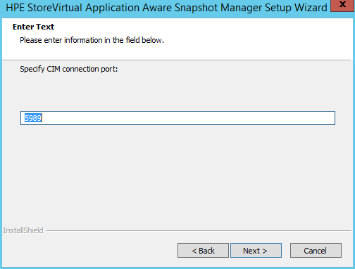 domalab.com HPE Application Snapshot Manager CIM port