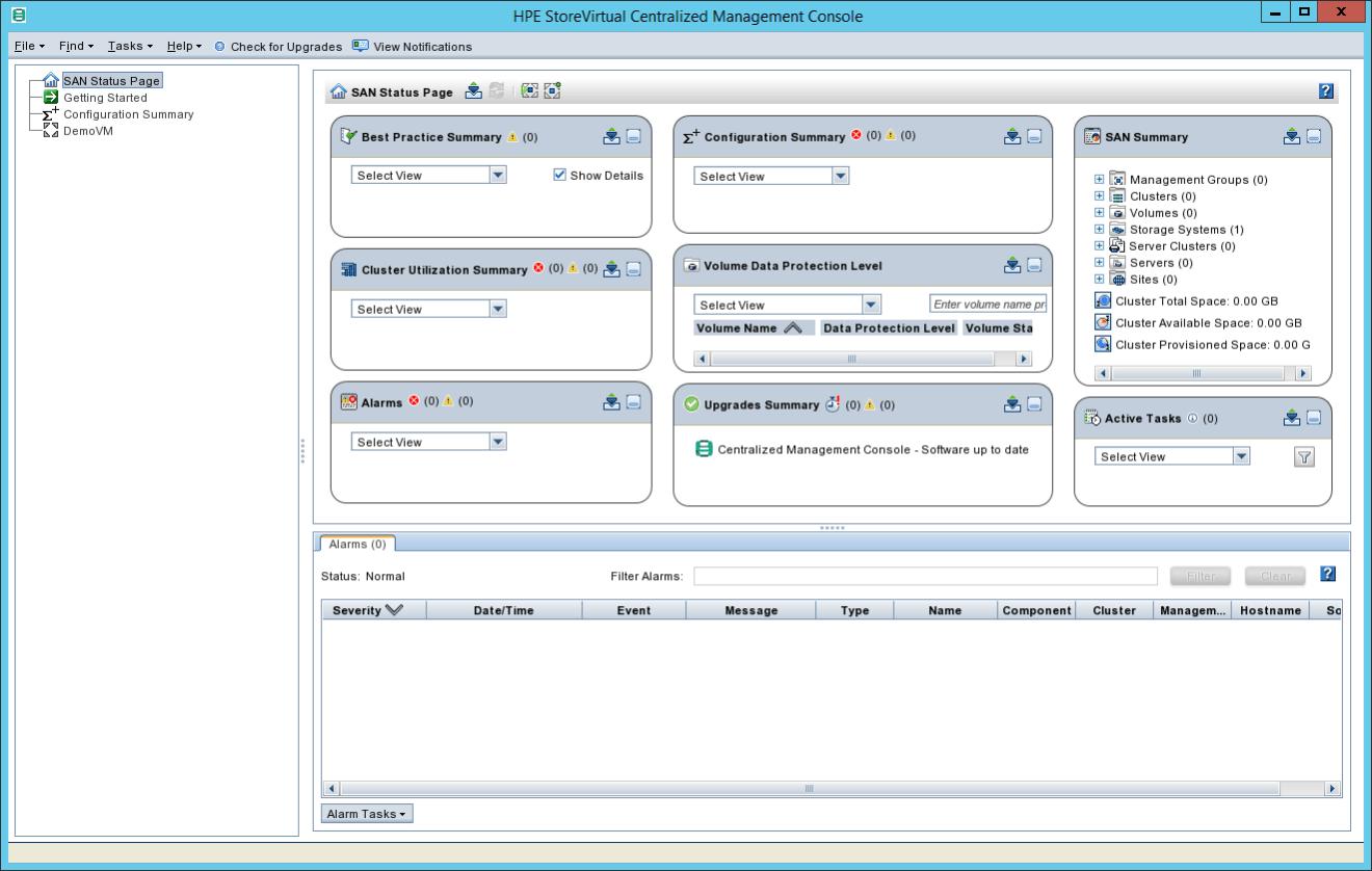 domalab.com HPE StoreVirtual Backup Centalized management console