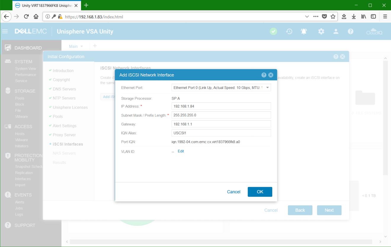 domalab.com Dell EMC Unity VSA iSCSI