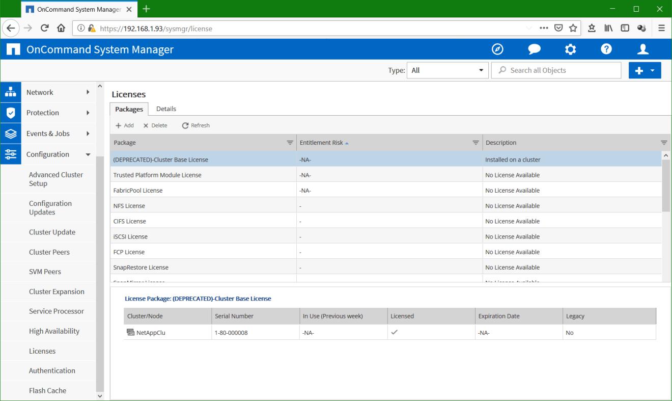 domalab.com Configure NetApp ONTAP license