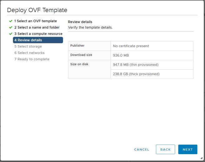 domalab.com Deploy Netapp ONTAP Sim ova review details