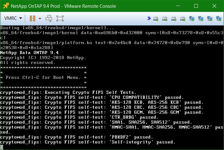 domalab.com Install NetApp ONTAP Sim Booting