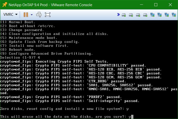 domalab.com Install NetApp ONTAP Sim clean configuration