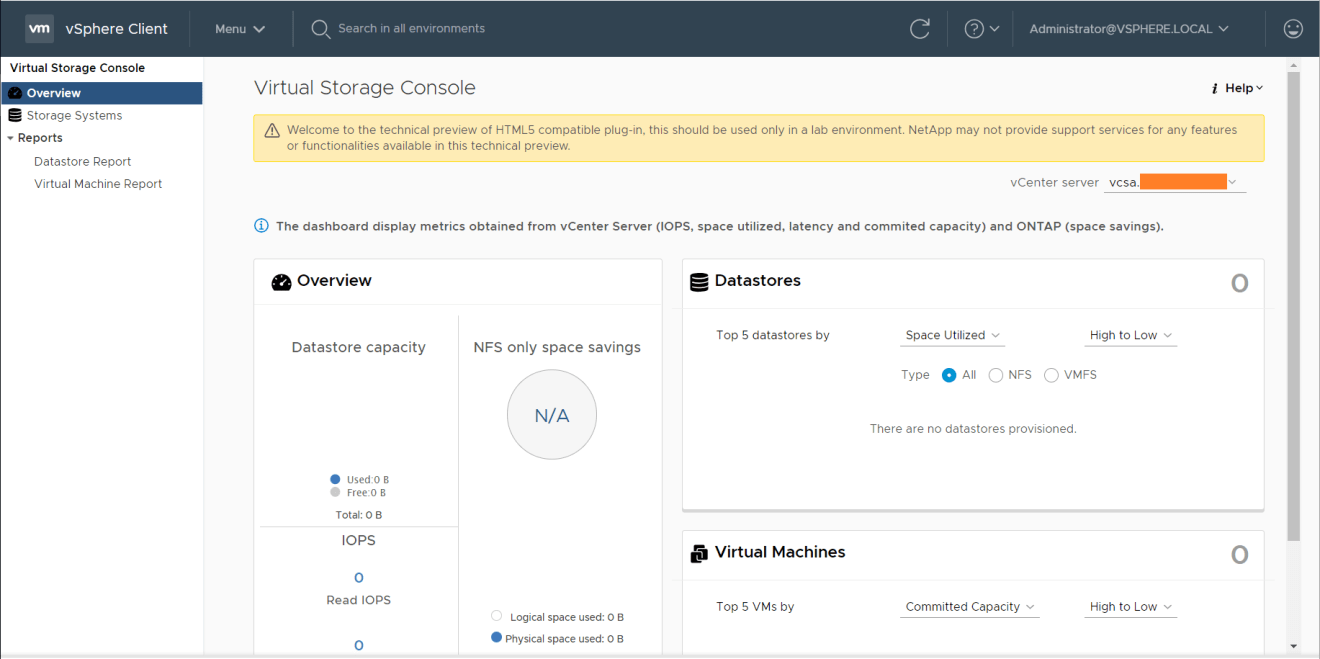 domalab.com Install NetApp VSC vSphere 6.7u1