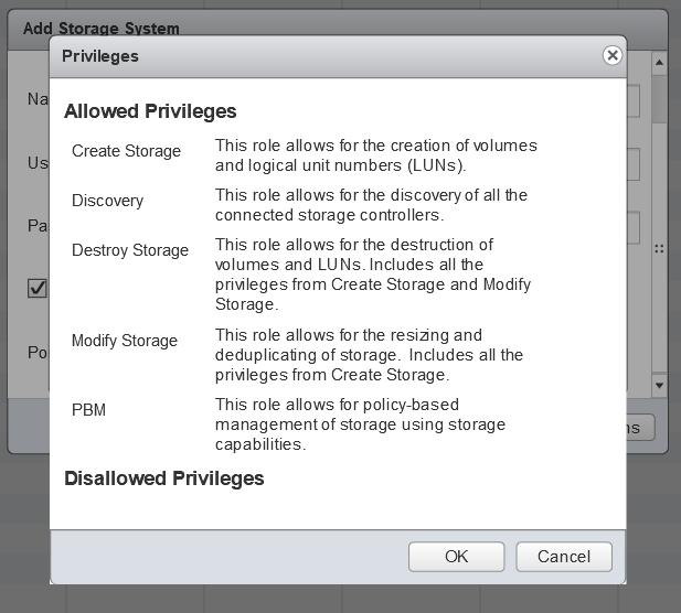 domalab.com Install NetApp VSC storage system privileges