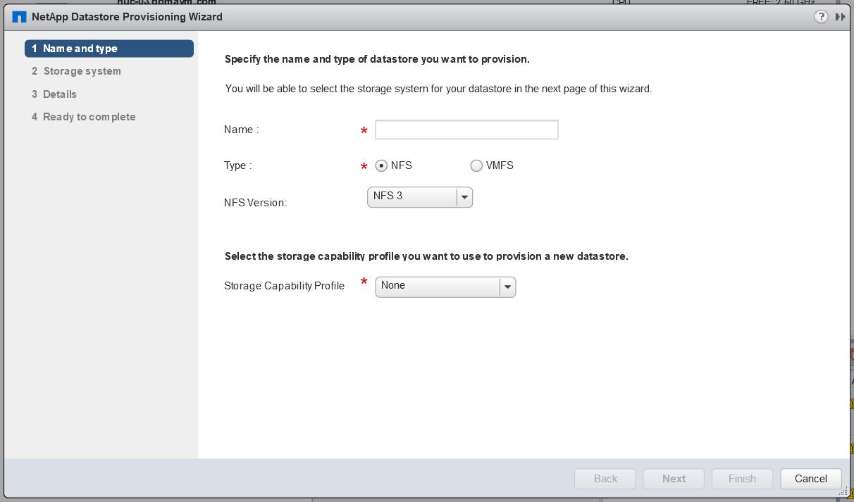 domalab.com Install NetApp VSC datastore provisioning