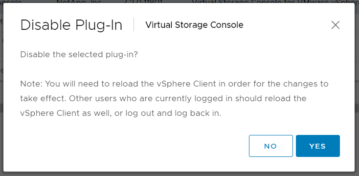 domalab.com uninstall NetApp VSC client plugin