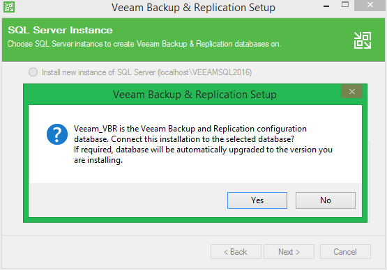 domalab.com Veeam Update 4 configuration database